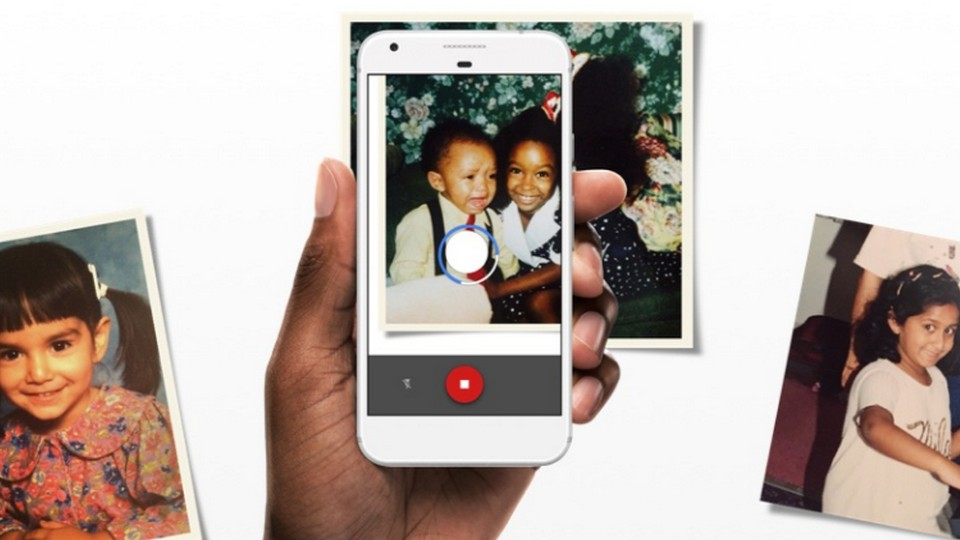 Scan and save your photos using Google Photoscan