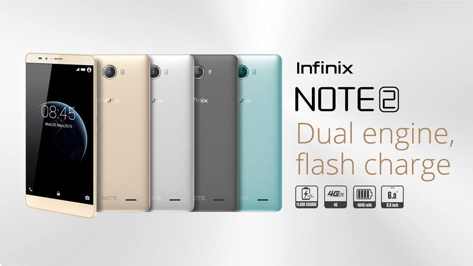 Infinix Note 2 is the best mid-range phone you can get for GHS500