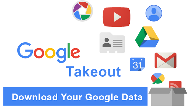 How to download your data from Google products you use