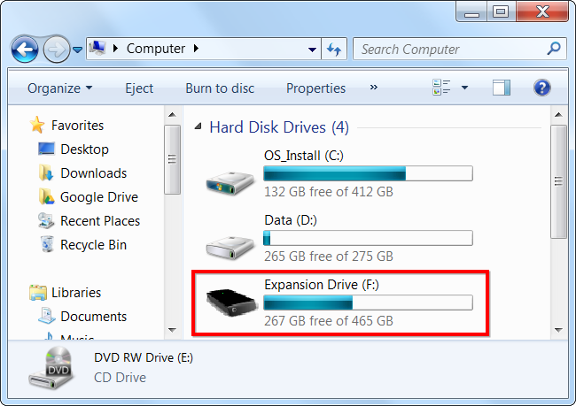 Why hard drives and memory cards have less space than advertised