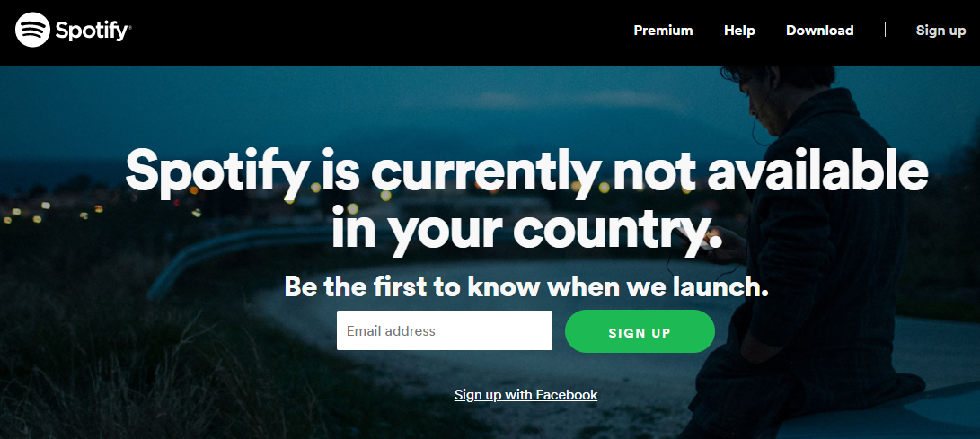 Why Spotify isn't available in Ghana