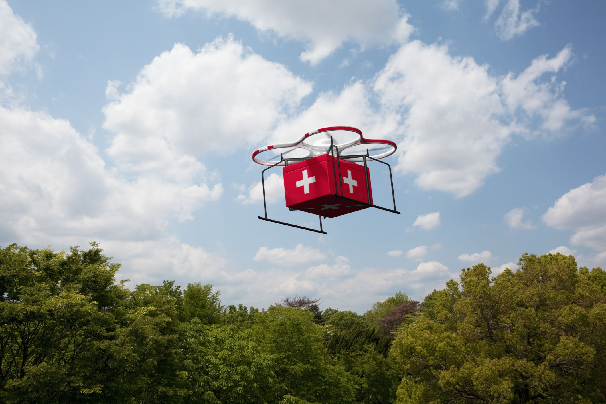 Can drones take the healthcare sector in Ghana to the skies?